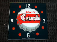 "15"" SQUARE CRUSH SODA POP ROUND GLASS FACE FOR PAM CLOCK"