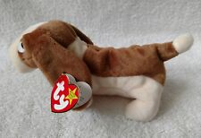"RARE TY BEANIE BABY ""TRACKER"" BORN IN 1997 WITH TAG ERROR AUTHENTIC AND RETIRED"