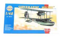 SMER Modellbau Kunststoff Modellbausatz Militär 1:48 Flugzeug Supermarine WALRUS