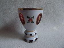 Sehr dekoratives Überfangglas - Freundschaftsbecher