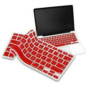 For Apple MacBook Pro Air 2016-2020 Models Soft Silicone Keyboard Cover Skin New