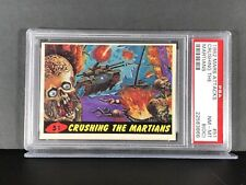1962 Mars Attacks #51 - CRUSHING THE MARTIANS - PSA 8 (OC) NM-MT