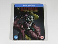 BATMAN THE KILLING JOKE BLU-RAY STEELBOOK UK OOS/OOP ULTRA RARE