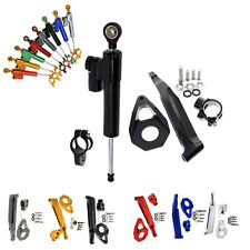 CNC Steering Damper Stabilizer Mounting Bracket Kit For Honda CBR600RR 2005-06