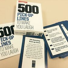 Novelty 500 Pick Up Lines Xmas Gifts Mens Stocking Fillers For Him