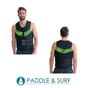 Jobe Neoprene Life Vest Lime Green 50N ISO Certified Buoyancy Aid SUP