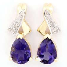 Pear Stud Handmade Fine Earrings