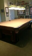 Early 1900s Balke Collender 9ft pool table