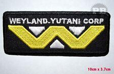 ALIEN WEYLAND-YUTANI CORP ,EMBROIDERED IRON-ON PATCH  BADGE LOGO UK SALLER