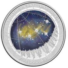 2016 Northern Sky $5 Series 3 Coin Set Cassiopeia- Ursa Major- Cygnus - All UNC