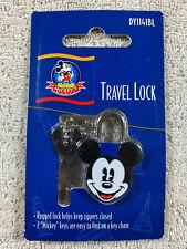 Disney Mickey's World Mickey Mouse Blue Small Travel Lock with 2 Keys New