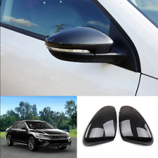 For Volkswagen Passat 2016-2020 Carbon Fiber ABS Side Rearview Mirror Cover Trim