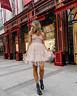 - GIAMBATTISTA VALLI x H&M SHORT TULLE DRESS WITH LACE UK 12 EUR 40 US 8