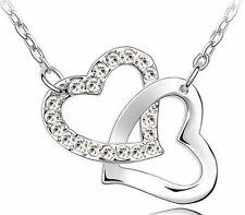 HERZKETTE Armkette Herzen versilbert 17 cm silber Geschenk Liebe Love Armband