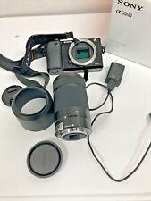 Sony Alpha a6000 Mirrorless Digital Camera BLACK  55-210mm Lens  1291 count