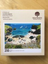 Wentworth wooden jigsaw puzzle 250 pieces - The Cove - Complete .