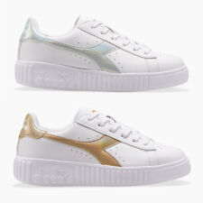 DIADORA GAME STEP GS SCARPE SNEAKERS DONNA SHOES SPORT ORO ARGENTO 101.176595
