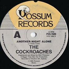 Cockroaches ORIG OZ 45 Another night alone NM '85 New wave Pop Rock Wiggles