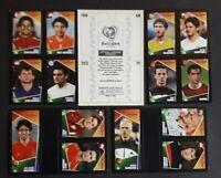 panini EURO 2004 pocket mini - album vide + 164 vignettes
