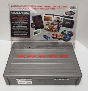 Blade Runner Final Cut Limited Edition Briefcase 5 DVD Set w/ Portfolio Hologram