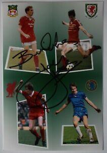 Joey Joey Signed Autograph 6x4 photo Wales Liverpool Chelsea Football COA AFTAL