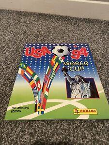 Panini USA 94 Complete Sticker Album World Cup 1994 please read discription