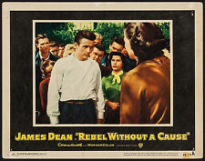 """Poster Lobby Card Rebel without a Cause 1955 11""""x14"""" VF 7.0 James Dean"""