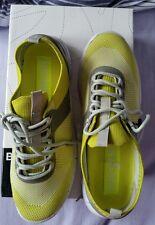 ♡♡♡ BNWT JOANNE MERCER  BRONX Fabric BALANCE Lime  39 or 8  RUNNING SHOES