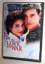 In Love and War DVD 1999 Sandra Bullock Chris ODonnell DVD Mint - Slim Case