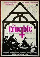 The Crucible by Arthur Miller, Birmingham Repertory Theatre Programme 1979