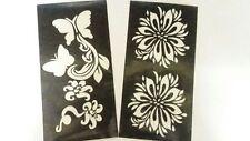 12 Kaveri herbal henna cones temporary tattoo body art kit  free 1 Applicator