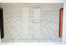 ARAKAWA- Diseño publicado en Derriere le miroir Nº 223 - 28 X 38 CM