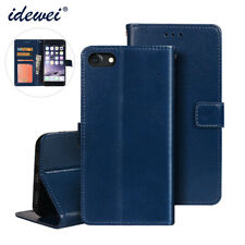 For iPhone 8 Card Wallet PU Leather Flip Phone Case Cover Magnetic Cases