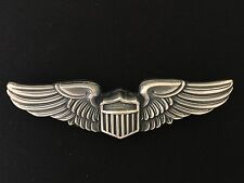American U.S. Army Air Corps Pilot's or Aviator's metal wings FULL SIZE