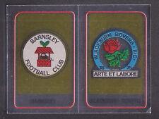 Panini - Football 84 - # 396 Barnsley / Blackburn Foil Badge
