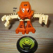 Lego 1388 Bionicle Huki McDonald's Promo complet de 2001 disk Kakama C182