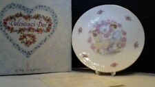 Royal Doulton Valentines Day Plate Nib 1977 Eternal Valentine