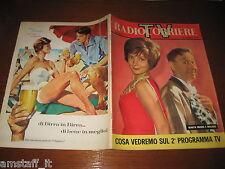 TV RADIOCORRIERE 1961/34=COVER RENATA MAURO=MACARIO=