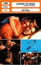 FICHE CINEMA : LEAVING LAS VEGAS - Cage,Shue,Sands,Figgis 1995