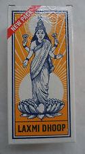 Laxmi Dhoop Indian Incense: 8 Stick / Log Pack (by Mysore Sugandhi)