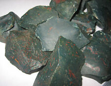 """.5lb A+ NATURAL ROUGH 1""""-2"""" BLOODSTONE CRYSTAL STONE MINERALS HELIOTROPE INDIA"""
