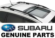 2014-2018 Subaru Forester OEM Aero Cross Bars Roof Rack - E361SSG000