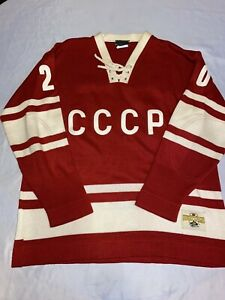 "Stall & Dean Vintage Russian Hockey Sweater Very ""RARE"" New Never On Never Used!"
