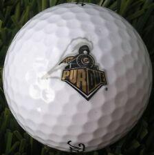 3 Dozen (Purdue Logo) Titleist Dt Trusoft Mint / Aaaaa Golf Balls