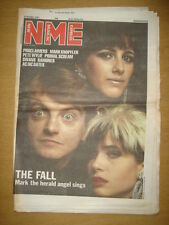 NME 1987 OCT 31 THE FALL MARK SMITH PROCLAIMERS RAMONES