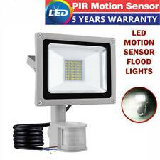 LED PIR Motion Sensor Flood Light 30W Outdoor Garden Security Lights Floodlights