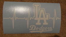 Los Angeles Dodgers Life car decal