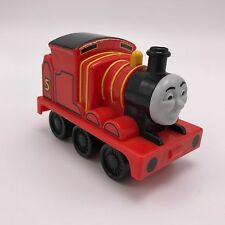 Fisher-Price Thomas and Friends Pullback Racer JAMES Toy Train 3.75 Inch