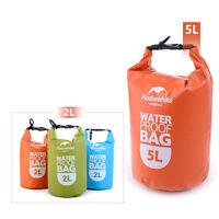 UltraLight Dry sack Camping Waterproof Bag Outdoor Rafting bag Swimmingbag FSBS