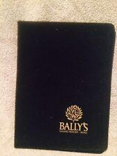 Bally's Hotel Casino Show Felt Photograph Folder Holder Las Vegas Nevada